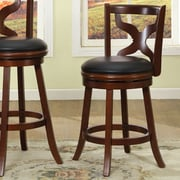 Hokku Designs Serafin 25'' Swivel Bar Stool with Cushion