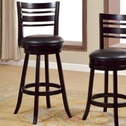 Hokku Designs Korinthia 30.25'' Swivel Bar Stool with Cushion