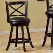 Hokku Designs Terrana 24.5'' Swivel Bar Stool