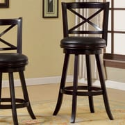 Hokku Designs Terrana 30.25'' Swivel Bar Stool with Cushion