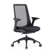 Woodstock Marketing Creedence Mesh Desk Chair; Black