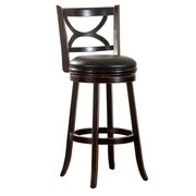 Hokku Designs Caramen 30.5'' Swivel Bar Stool with Cushion