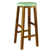 Antique Revival Brayden Stool; Turquoise