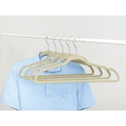 GGI International Sorbus  Non-Slip Velvet Clothes Hangers with Notched