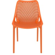 Siesta Exclusive Air Armless Indoor and Outdoor Stacking Chair