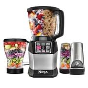 Ninja   Nutri 48 oz. Auto-IQ Compact 6-Speed Blender, Black/Silver (BL491)