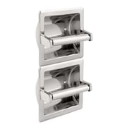 Franklin Brass Vertical Recessed Twin Toilet Paper Holder (979)