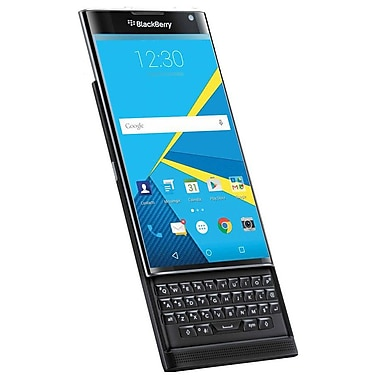 Blackberry PRIV STV100-1 Unlocked Android Smartphone, 32GB Storage, 3GB RAM, Snapdragon 808 Hexa-Core, DTEK Technology, Black