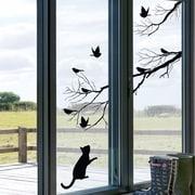 Platin Art Kitty Window Sticker