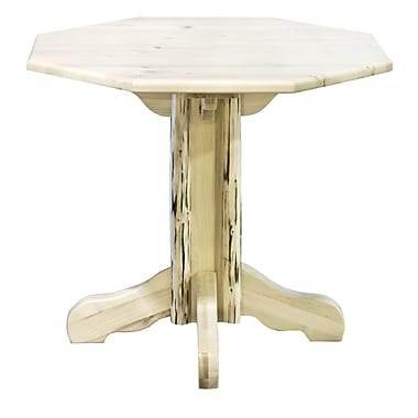 Montana Woodworks Montana Dining Table; Lacquered