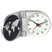 Bai Design World Trotter Modern Travel Alarm Clock in Gotham White