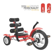 Mobo Mobo Mini- The World's Smallest Luxury Three Wheeled Cruiser; Red