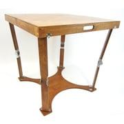 Spiderlegs Portable Folding Dining Table; Light Walnut