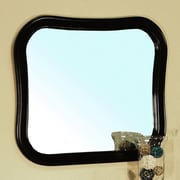 Bellaterra Home Colfax Mirror; Black
