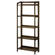 Casual Home Stratford 60.25'' Standard Bookcase; Warm Brown