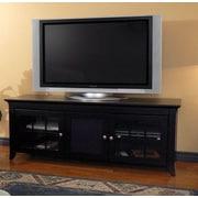 Woodhaven Hill Veneto Series TV Stand; Black