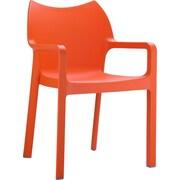 Siesta Exclusive Diva Stacking Chair; Orange