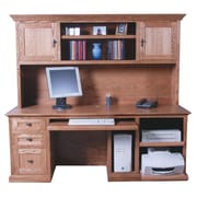 Forest Designs Computer Desk; Golden Oak