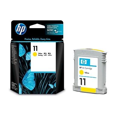 HP - Cartouche d'encre originale 11 jaune (C4838A)