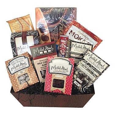 Michael Adams Gourmet Chocolate Lover Gift Basket