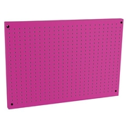 The Original Pink Box Saunders Steel Peg Board; 24'' x 36''