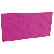 The Original Pink Box Saunders Steel Peg Board; 24'' x 48''