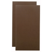 Triton Products Heavy Duty Commercial Grade Tempered Round Hole Pegboards