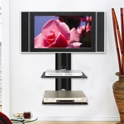Ready Set Mount Monte Carlo Dual Wall-Mount Shelf System in Hi-Gloss Black