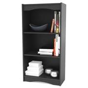 dCOR design Hawthorn 48'' Standard Bookcase; Black