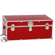 Buyers Choice Artisans Domestic Heirloom Steamer Trunk; Red