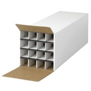 Safco Products Document and Gift Wrap Paper Roll Storage Organizer