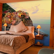 Brewster Home Fashions Ideal D cor Cinque Terre Coast Wall Mural