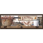 Illumalite Designs Country Laundry Framed Painting Print with Pegs