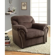Woodhaven Hill Valentina Arm Chair; Chocolate