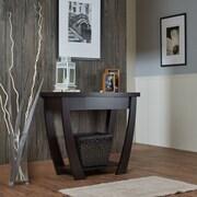 Hokku Designs Quin Console Table; Cappuccino