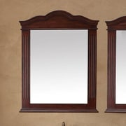 James Martin Furniture Florentine 32'' Mirror (Set of 2); Cherry