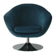 Fox Hill Trading Comet Disc Base Bella Barrel Chair; Bayox