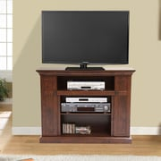 dCOR design Plasma TV Stand; Dark Walnut