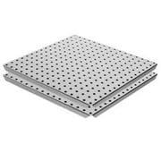 Alligator Board Pegboard Panel with Flange