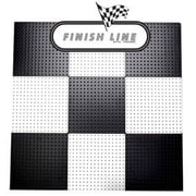 Alligator Board Powder Coated Metal Pegboard Panels w/ Flange in Black and White