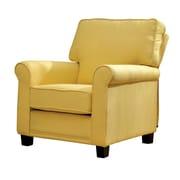 Hokku Designs Harrow Arm Chair; Yellow
