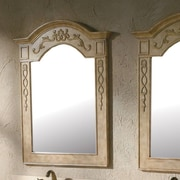 James Martin Furniture Naples 32'' Mirror (Set of 2); Parchment