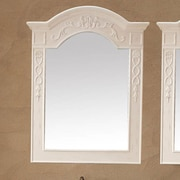 James Martin Furniture Naples 32'' Mirror (Set of 2); Antique White