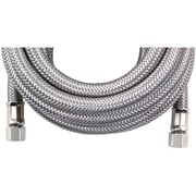 CERTIFIED APPLIANCE IM180SS Braided Stainless Steel Ice Maker Connector, 15'