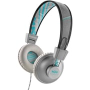 House of Marley Positive Vibration On-Ear Headphones - Aqua