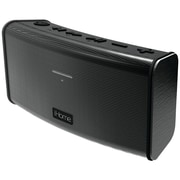 IHOME IHMIBT34BC Rechargeable Stereo Bluetooth  Speaker with Speakerphone, Black