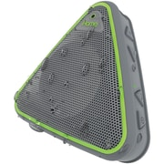 IHOME IHMIBT5GQC Splashproof Bluetooth  Speaker, Gray Green