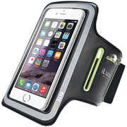 "iLuv ILVUP1ARMBBK Phablet Sports Armband for iPhone  6/6s/5.5"" Plus/6s Plus"