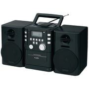 JENSEN JENCD725 Portable CD Music System with Cassette and FM Stereo Radio