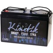 Kinetik UBC40928 HC Blu Series Battery, HC2400, 2.4W, 110Amp-Hour Capacity, 12V